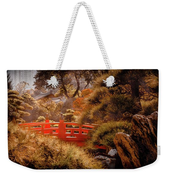 Kowloon - Red Bridge Weekender Tote Bag