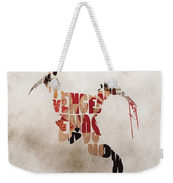 Kratos Fanart From God Of War Weekender Tote Bag