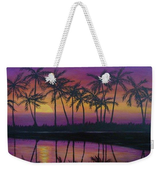 Kristine's Sunset Weekender Tote Bag