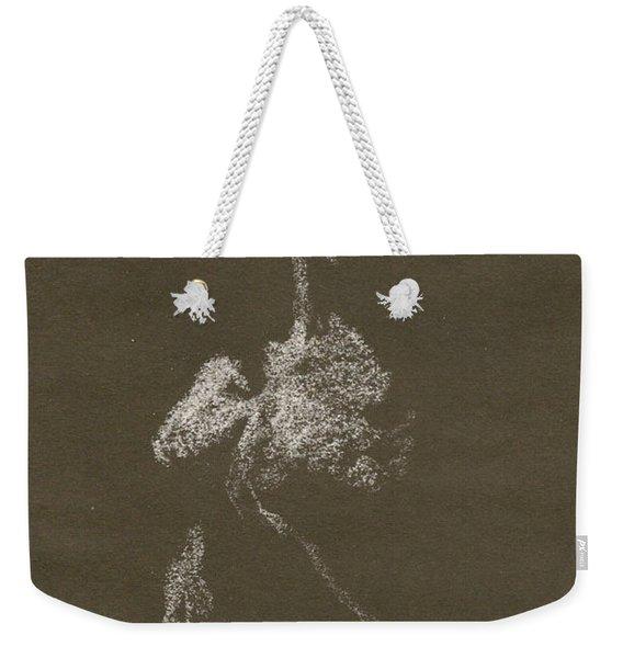 Kroki 1997, Pre.3 Vit Krita, Figure Drawing White Chalk Weekender Tote Bag