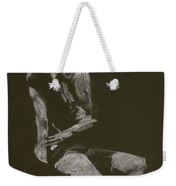 Kroki 2014 10 04_12 Figure Drawing White Chalk Weekender Tote Bag