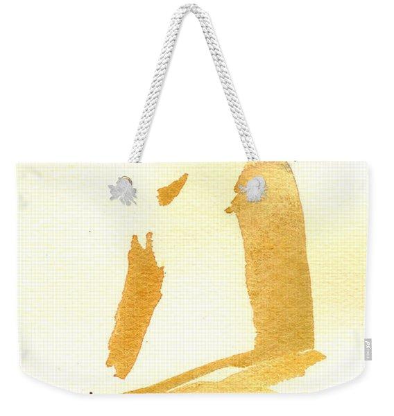 Kroki 2015 03 28_29 Maalarhelg 3 Akvarell Watercolor Figure Drawing Weekender Tote Bag