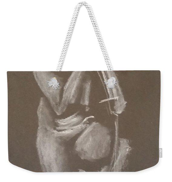 Kroki 2015 06 18_4 Figure Drawing Chinese Sword White Chalk Weekender Tote Bag