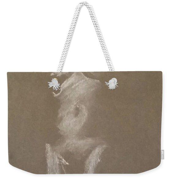 Kroki 2015 06 18_6 Figure Drawing White Chalk Weekender Tote Bag