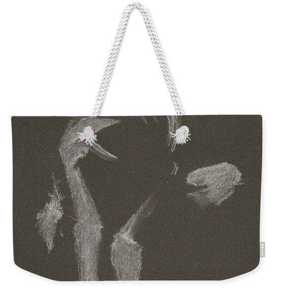 Kroki 2015 10 03_10 Figure Drawing White Chalk Weekender Tote Bag