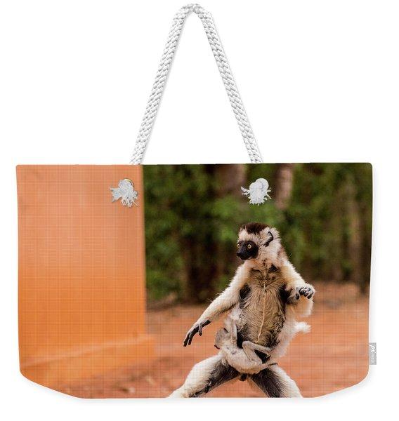 Kung Fu Mom Weekender Tote Bag