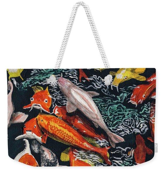 Kure Koi Pond Weekender Tote Bag