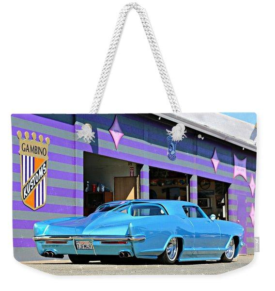 Kustom On The Riviera  Weekender Tote Bag