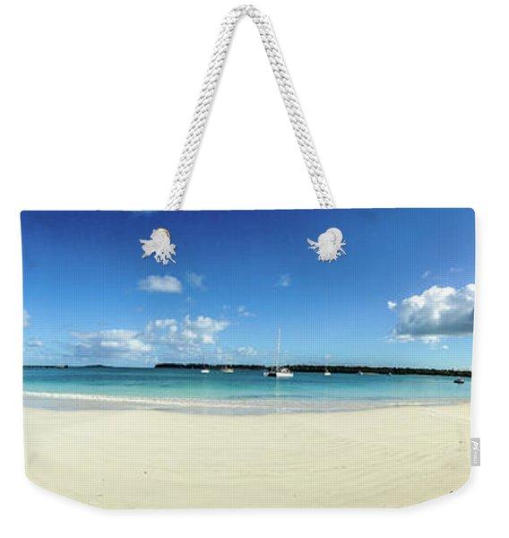 Kuto Bay Morning Pano Weekender Tote Bag
