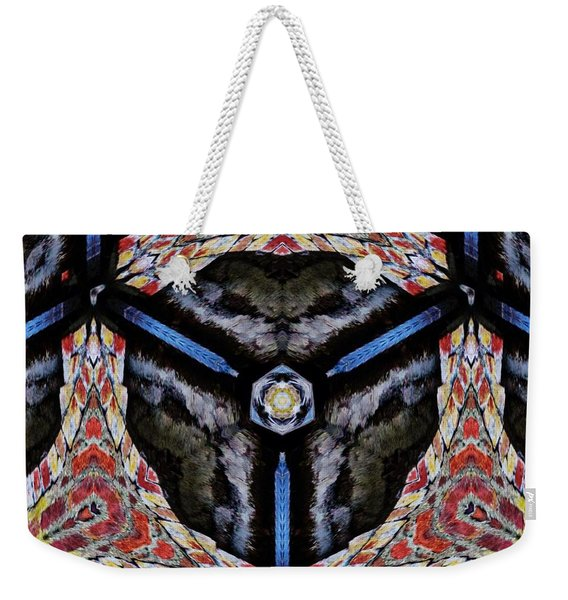 Weekender Tote Bag featuring the mixed media KV6 by Writermore Arts