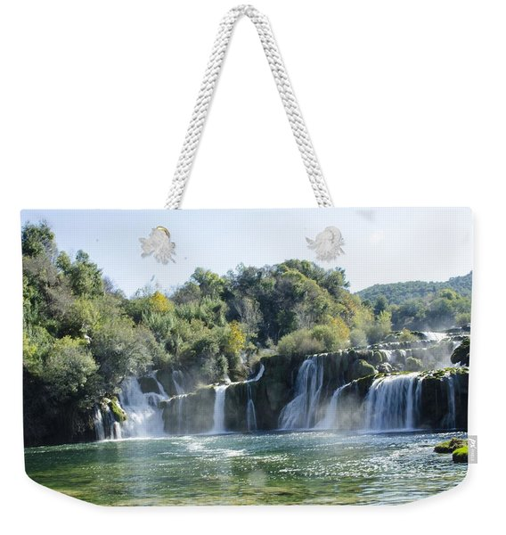 Kyrka Waterfalls Weekender Tote Bag