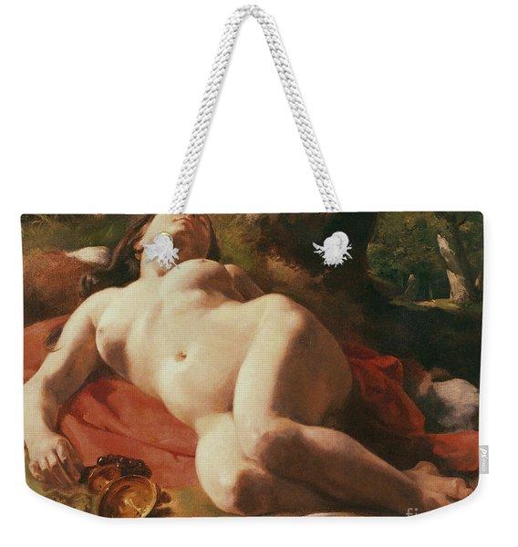 La Bacchante Weekender Tote Bag