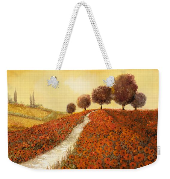 La Collina Dei Papaveri Weekender Tote Bag