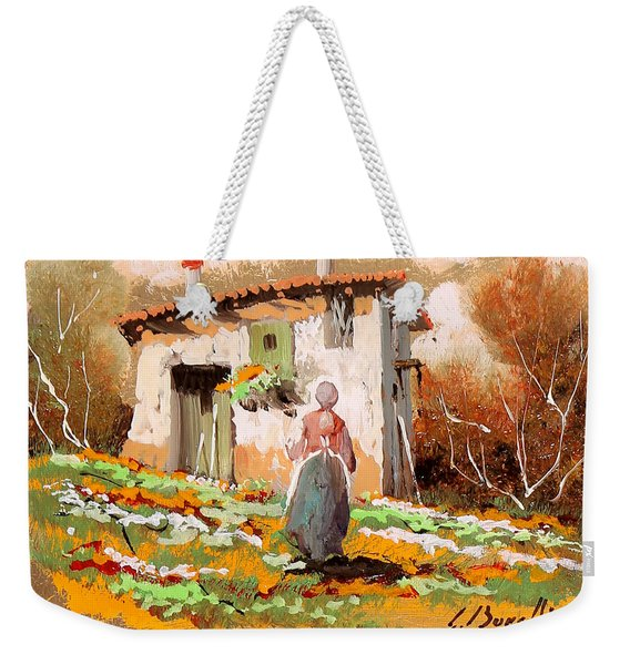 La Donzelletta Weekender Tote Bag