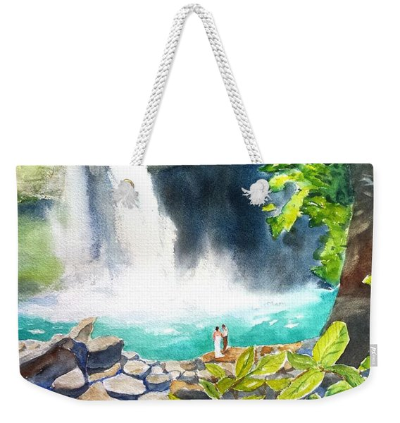 La Fortuna Waterfall Weekender Tote Bag