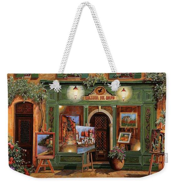 La Galleria Del Corvo Weekender Tote Bag
