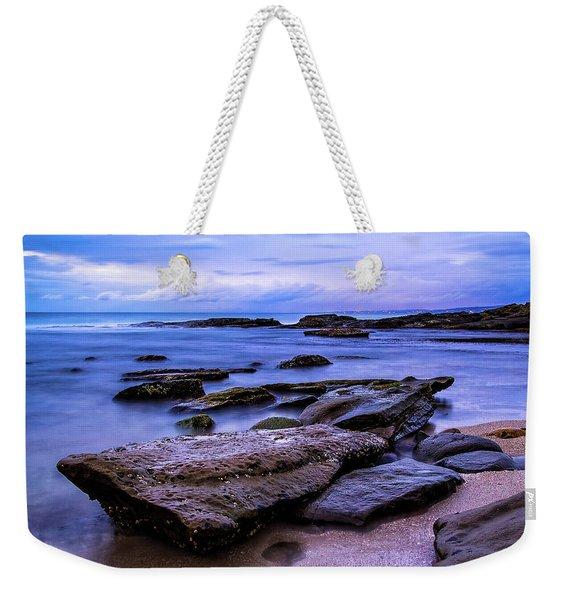 La Jolla Cove Twilight Weekender Tote Bag