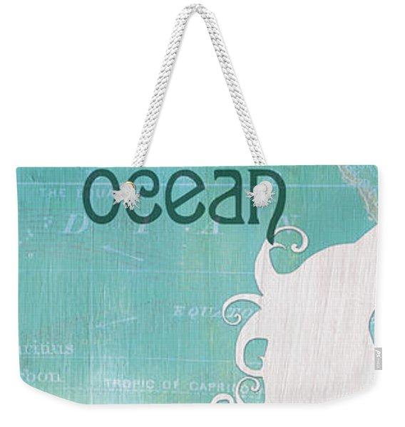 La Mer Mermaid 1 Weekender Tote Bag