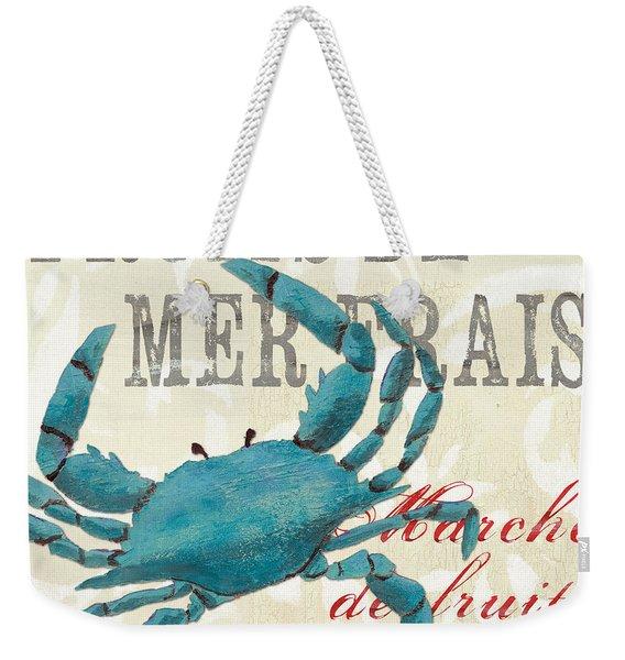 La Mer Shellfish 1 Weekender Tote Bag