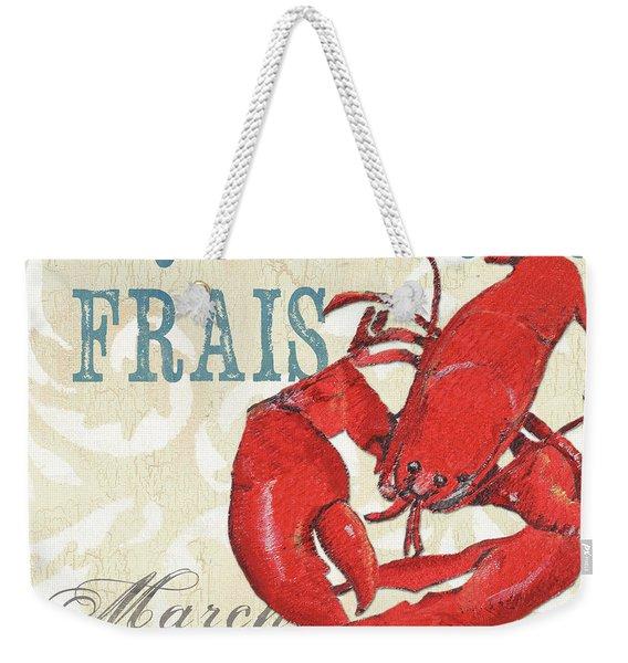 La Mer Shellfish 2 Weekender Tote Bag