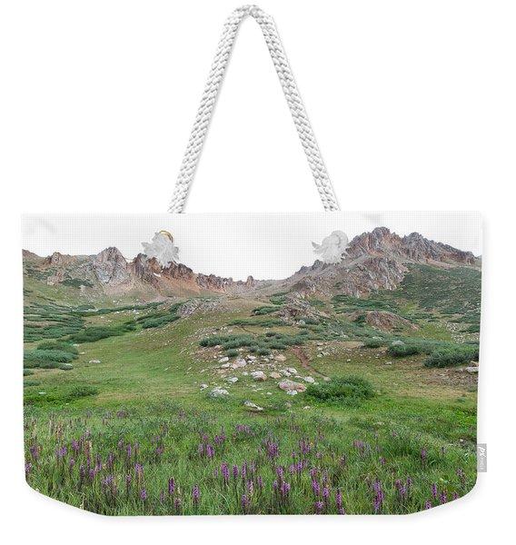 La Plata Peak Weekender Tote Bag