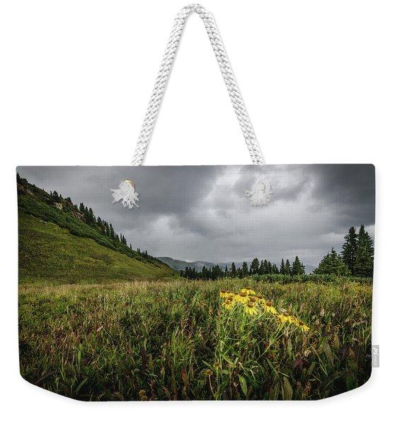 La Plata Wildflowers Weekender Tote Bag