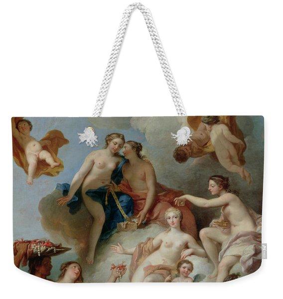 La Toilette De Venus Weekender Tote Bag
