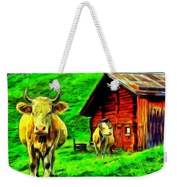 La Vaca Weekender Tote Bag