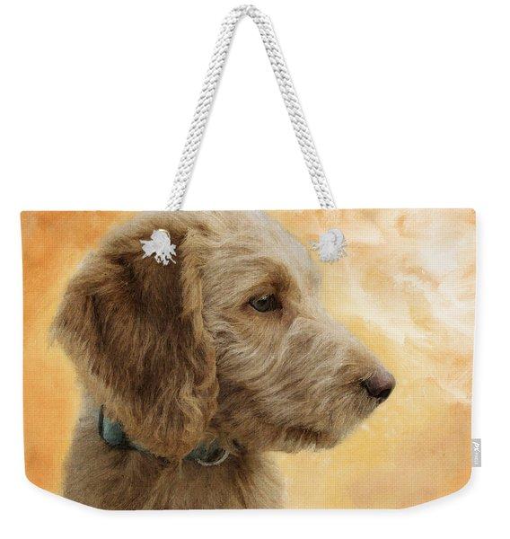 Labradoodle Puppy Weekender Tote Bag