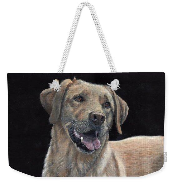 Labrador Portrait Weekender Tote Bag