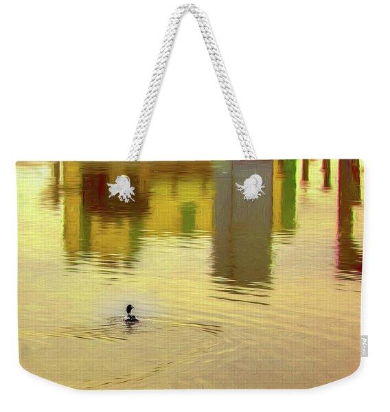 Labyrinthine #d7 Weekender Tote Bag