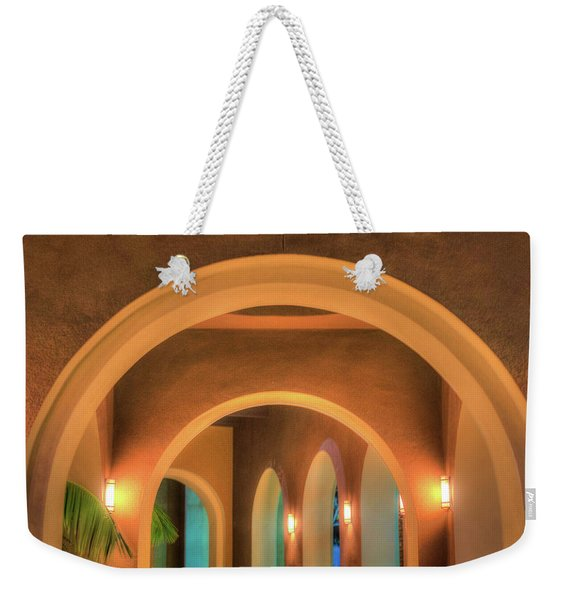 Labyrinthian Arches Weekender Tote Bag