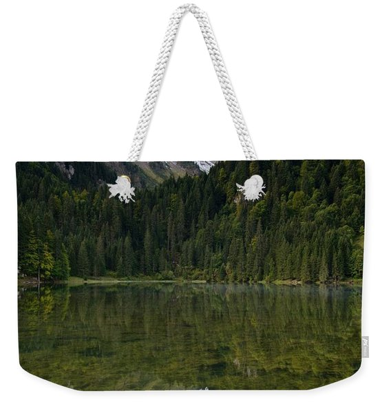 Lac Des Plagnes Weekender Tote Bag