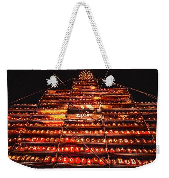 Laconia Pumpkin Fest Graphic Design 1 Weekender Tote Bag