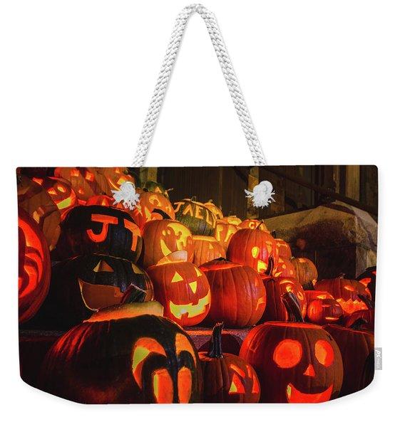 Laconia Pumpkin Festival Graphic Design 2 Weekender Tote Bag