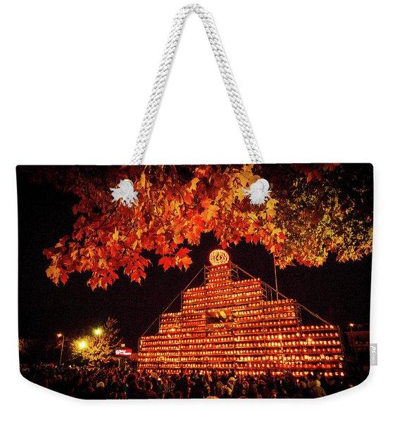Laconia Pumpkin Festival Graphic Design 4 Weekender Tote Bag