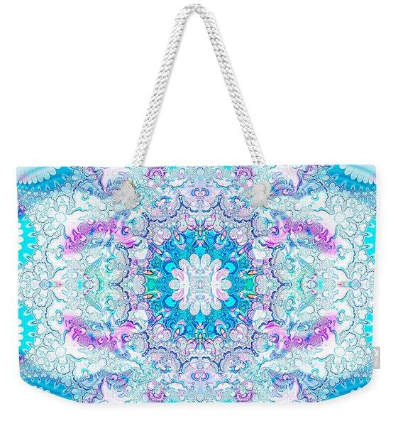 Lacy Mandala Weekender Tote Bag