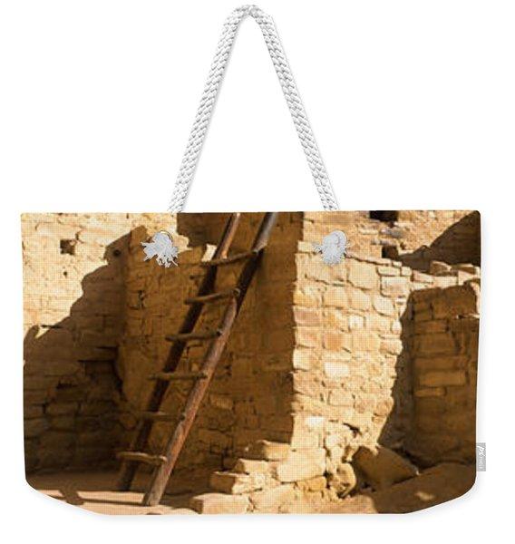 Ladder At House, Cliff Palace, Mesa Weekender Tote Bag