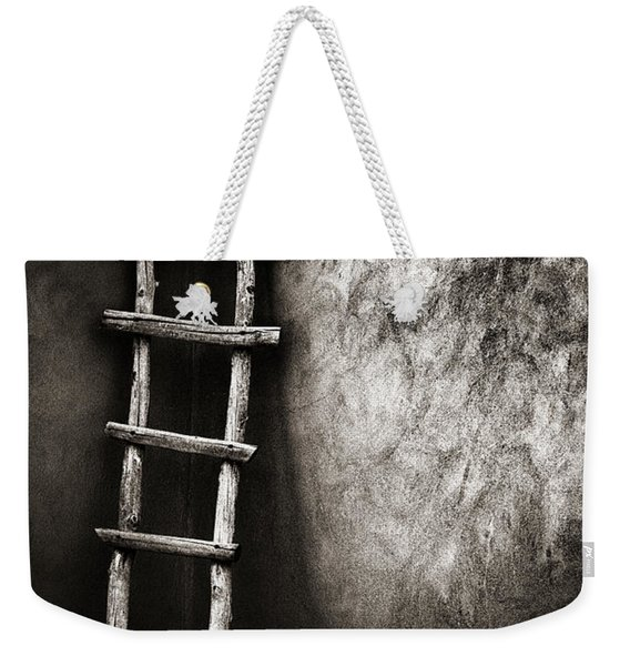 Ladder In Truchas New Mexico Weekender Tote Bag