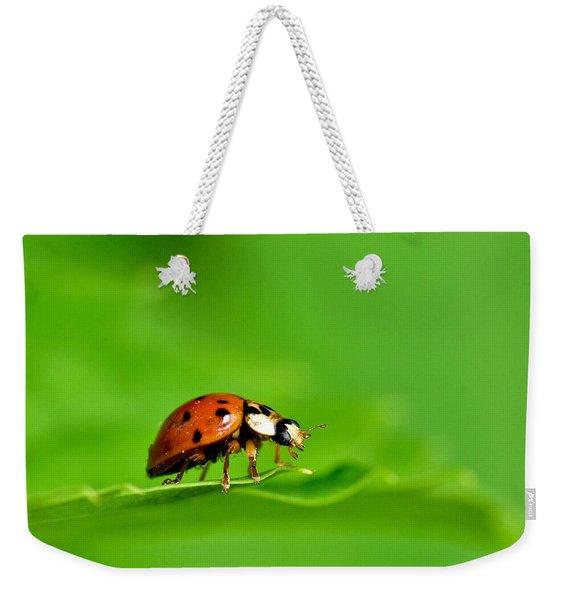 Lady Bug Weekender Tote Bag