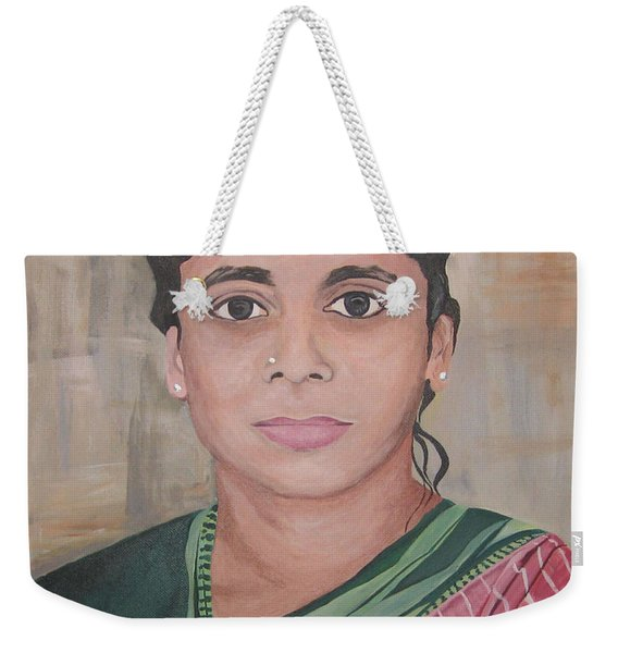 Lady From India Weekender Tote Bag