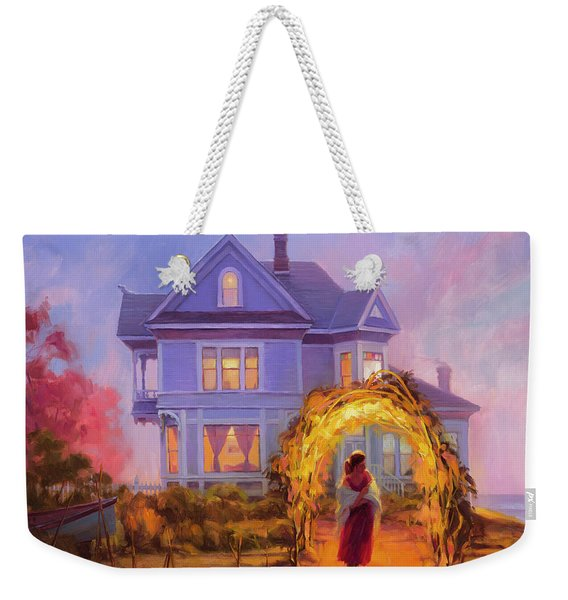 Lady In Waiting Weekender Tote Bag