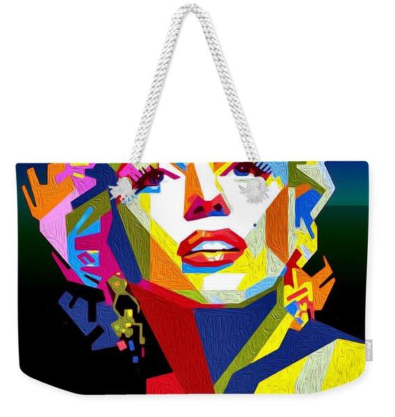 Lady Monroe Weekender Tote Bag