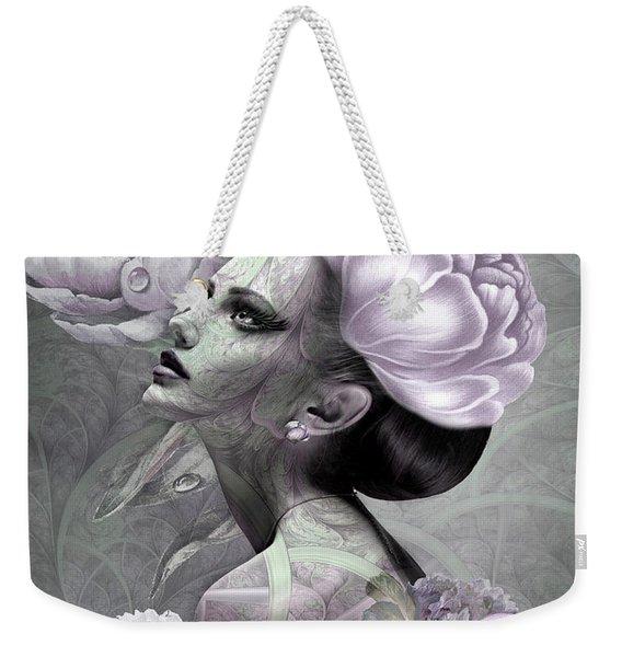 Lady Of Beauty Weekender Tote Bag