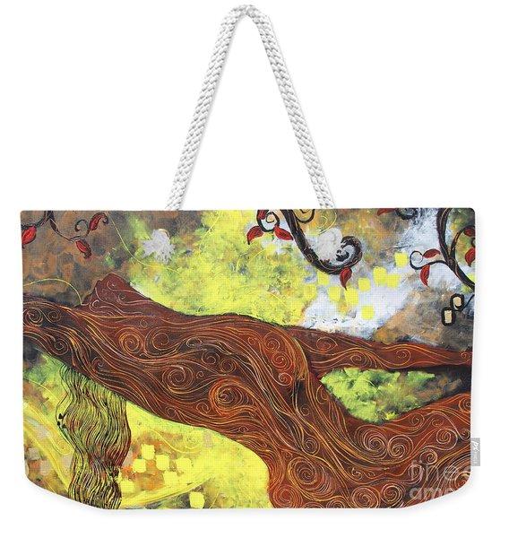 Lady Of Elation Weekender Tote Bag