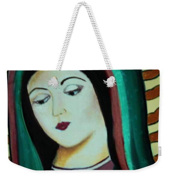 Lady Of Guadalupe Weekender Tote Bag