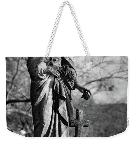 Lady Of Remembrance Weekender Tote Bag