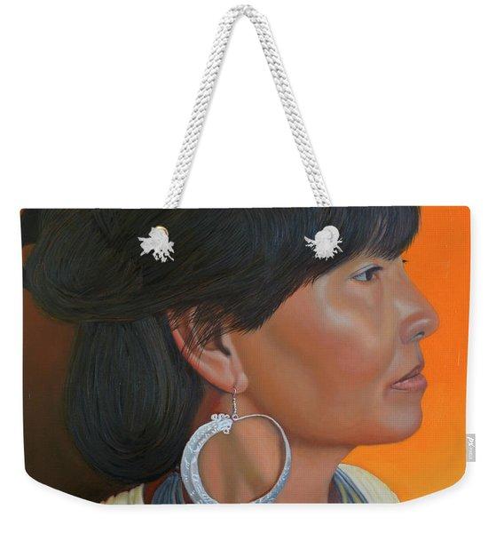 Lady Of Sapa Weekender Tote Bag