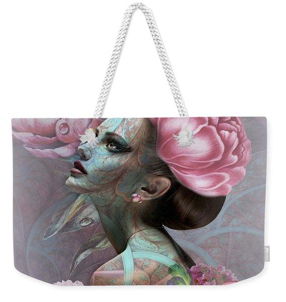 Lady Of Beauty 002 Weekender Tote Bag