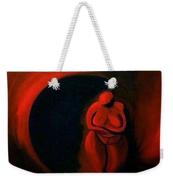Lady Willendorf Weekender Tote Bag